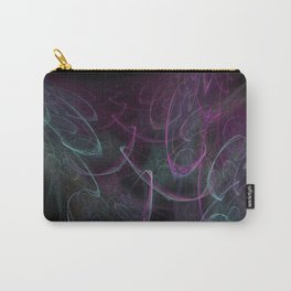 Christmas blizzard. Abstract Carry-All Pouch