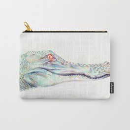 Albino Alligator Carry-All Pouch