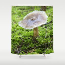 Fungi and moss Shower Curtain