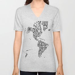 Earth of dreams Unisex V-Neck