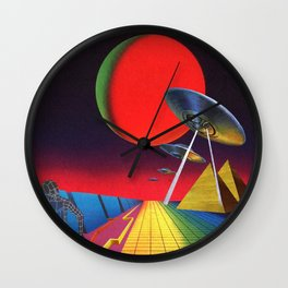 Invaders Wall Clock