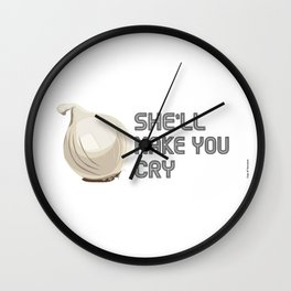 Onion Domination - Cleveland Condiment Race Wall Clock