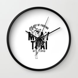 Fighting Spirit Wall Clock