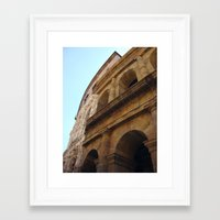 theater Framed Art Prints featuring Theater by BMaw