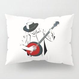 A Man Playing Banjo 2 Pillow Sham
