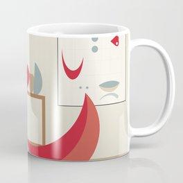 Inside Mid-century modern 120 Coffee Mug