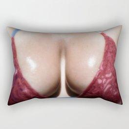 Bikini Top 4 Rectangular Pillow