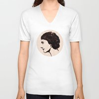 coco V-neck T-shirts featuring COCO by steam
