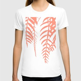 botany coral color T-shirt