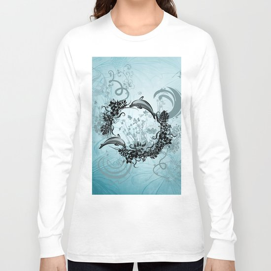 Cute dolphin Long Sleeve T-shirt