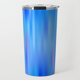 the blue color is arguing with the red color, with the green color Travel Mug
