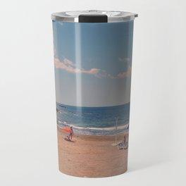 Spanish Sunbathers Travel Mug