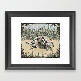 HOME NOW Framed Art Print