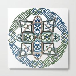 Celtic Mandala Metal Print