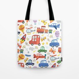 Transportaion Tote Bag