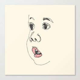 Baby Face Canvas Print