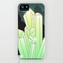 Crystal Cave iPhone Case