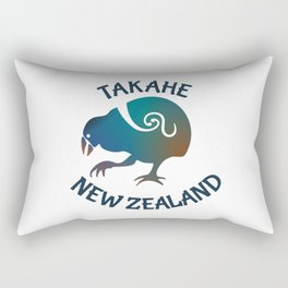 TAKAHE New Zealand Native bird Rectangular Pillow