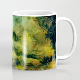 abstract misty forest painting 2 hvhdtg Coffee Mug