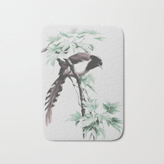bird 2 Bath Mat