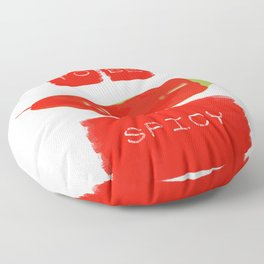To be spicy Floor Pillow