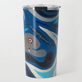 Parasites in Blue Travel Mug