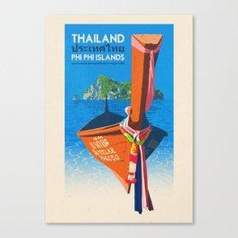 Thailand - Phi Phi Islands Canvas Print