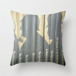 Sherlock Holmes by Sir Arthur Conan Doyle Throw Pillow