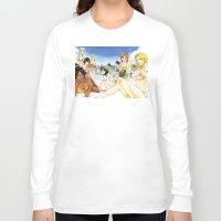 bleach Long Sleeve T-shirts featuring Bleach on the Beach by Borsalino