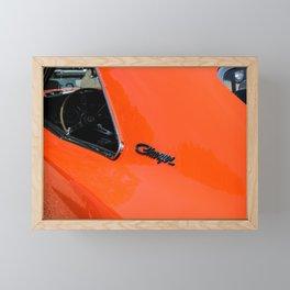 American muscle - orange Framed Mini Art Print