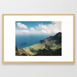 Her Valley Framed Art Print