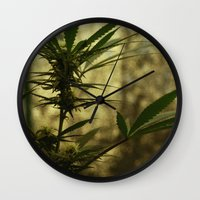 plants Wall Clocks featuring Plants by AGMPhotos