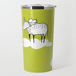 Flying Water Buffalo by Amanda Jones Travel Mug