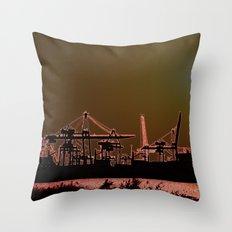 SUNSETSHORE Throw Pillow