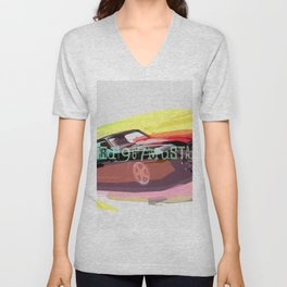 Ford Mustang Car Unisex V-Neck
