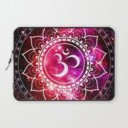 Ohm Mandala : Galaxy Mandala Red Fuchsia Pink Laptop Sleeve