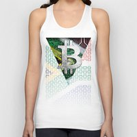 south africa Tank Tops featuring bitcoin South Africa by seb mcnulty