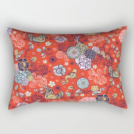 Cranes´ Flight Rectangular Pillow