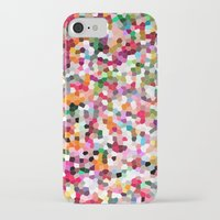 mosaic iPhone & iPod Cases featuring Mosaic by Laura Ruth
