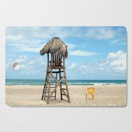 A Quiet Beach Moment Cutting Board
