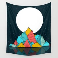 ruben Wall Tapestries featuring The lost Island  by  Steve Wade (Swade)
