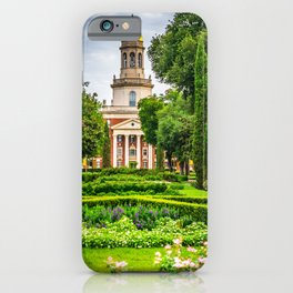 Baylor University Campus Print iPhone Case
