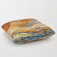 Burn Floor Pillow