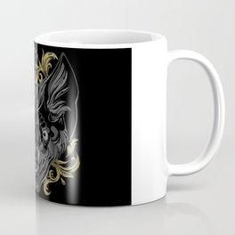 Ornamental Bat Head Coffee Mug