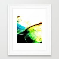 tye dye Framed Art Prints featuring dye by Jamie Bryant