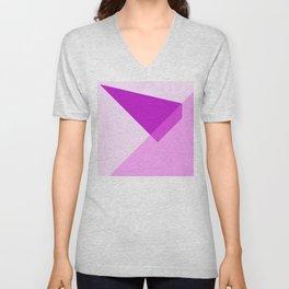 Triangles No7 Unisex V-Neck