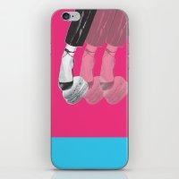 macaron iPhone & iPod Skins featuring macaron by yard