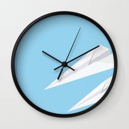 Paper Planes Wall Clock