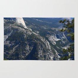 Imposing Glacier Point View Rug