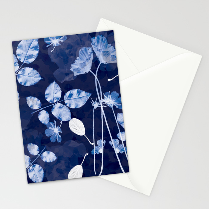 Folding Card Flora
